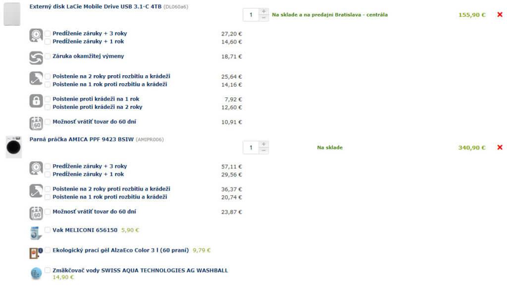 zvýšenie priemernej hodnoty objednávky cez upselly a order bumpy